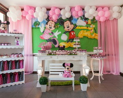 Decora��o Completa Festa Minnie