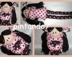Boneca De Pano - Centro de mesa - Lili