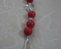 Chaveiro Vermelho cora��o - Ch018