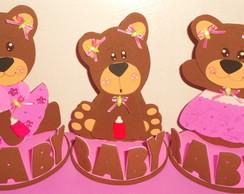 Ursinhas rosa e marrom