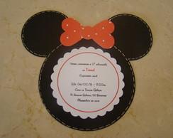 Convite Minie ou Mickey
