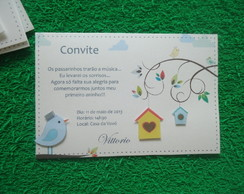 Convite Passarinho