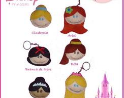 Princesas Disney em feltro