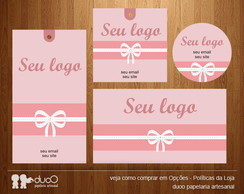 Kit003 com cart�es, tags, etiquetas