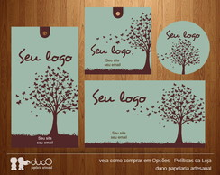 duoO Kit 015 - cart�es, tags, adesivos