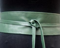 Cinto Obi na cor verde