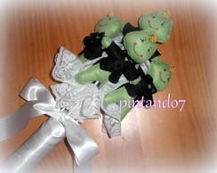Bouquet Pr�ncipe Sapo com 5