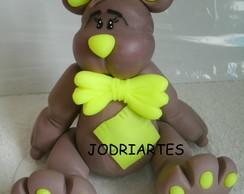 Urso em biscuit