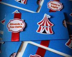 convite Bilhete de Circo