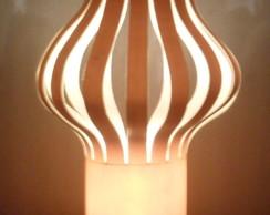 Lumin�ria em PVC Bal�o