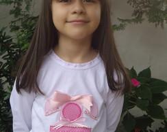 Camiseta Telefone Rosa