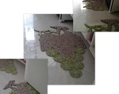 """Tapetes de croch� """"uva verde"""""""