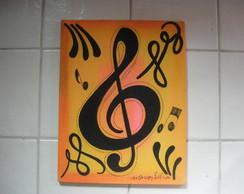 Tela nota Musical II