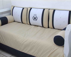 Kit cama bab� Navy Blue