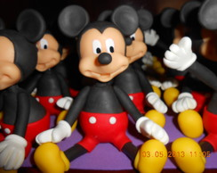 Aplique Mickey E Minnie