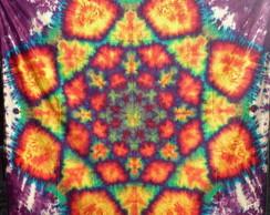 Mandala Flor De Lotus Em Tye Die