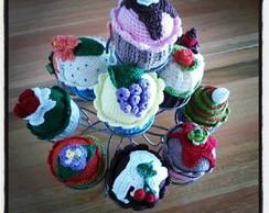 Cupcakes em croch� (amigurumi)
