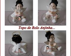 Topo de Bolo Anjo