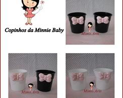 Copinho Brigadeiro Redondo Minnie Baby
