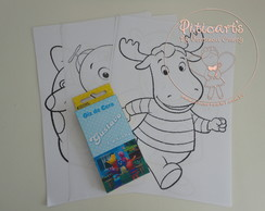Kit Pintura B�sico Backyardigans 01