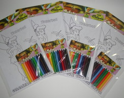 Kit de colorir personalizado, Sininho