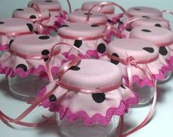 Mini Pote - Lembran�a Marrom e rosa