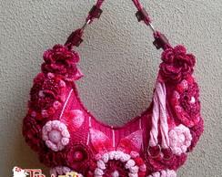 Bolsa Bella Pink - (Pronta Entrega)