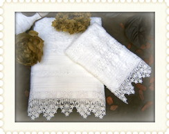 Kit Rosto & Lavabo Long Branco