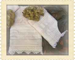 Kit Rosto & Lavabo Long Marfim