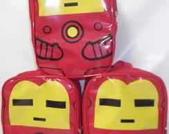 Mochila Lego Homem de Ferro