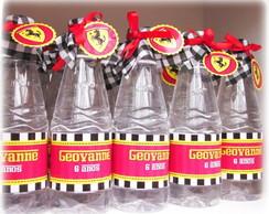 R�tulo Para �gua - Ferrari