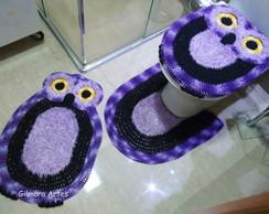 Jogo de banheiro - Coruja Bnh 063