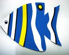 Peixes Decorativos - painel