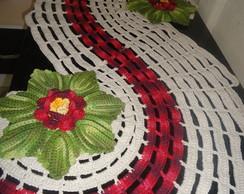 caminho mesa ou tapete espiral