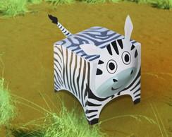 Caixinha Zebra Personalizada para doces