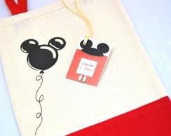 Saquinho Surpresa:  inspirado no Mickey
