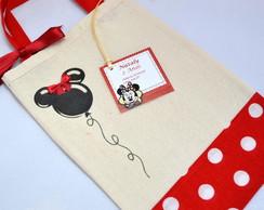 Saquinho Surpresa: inspirado na Minnie