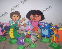 Kit Dora Aventureira para mesa