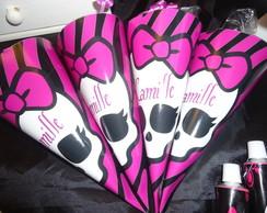 Embalagem de Cones da Monster High