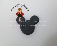 Aplique Tam P Mickey Mouse De Biscuit