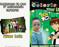 Revista colorir - Ben 10