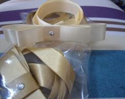 Fita la�o chanel p/ caixa de kit toilete