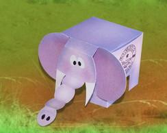 Caixa Elefante Personalizada para doces