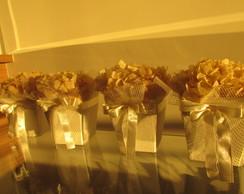 Vasinho de hort�ncia champagne & fil�