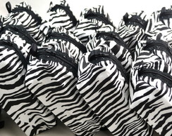 Mini N�cessaire: Safari, Zebra, On�a