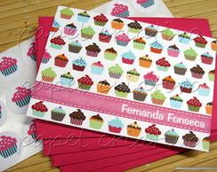 Cart�o Personalizado - cupcake