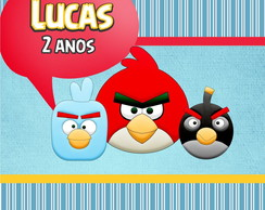 Kit arte digital com o Tema Angry Birds