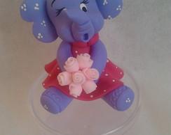 Elefantinha Na Caixinha Redonda