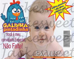 Convite Revista Caras - Galinha