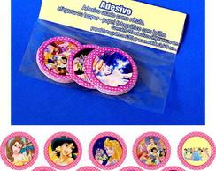 Princesas Disney 25 Topper Adesivo